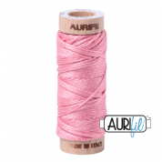 Aurifloss - 6-strand cotton floss - 2425 (Bright Pink)